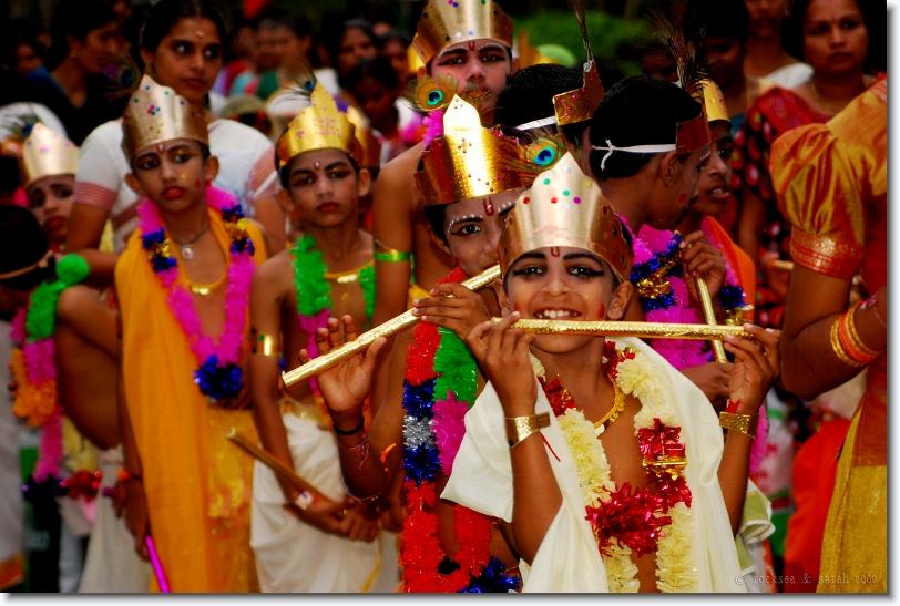 gopalans, sri krishna jayanthi at bharananganam, kerala