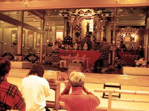 buddhist temple at hokkaido